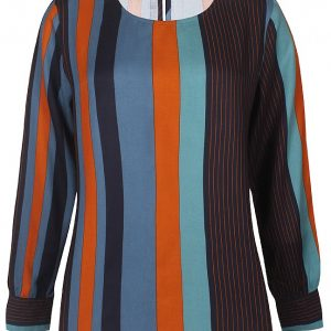 Pinstriped rust top Jerros Birr zeze