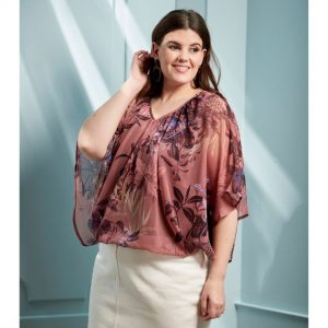 plus size top jerros birr