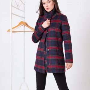 Wool check coat Jerros birr paco