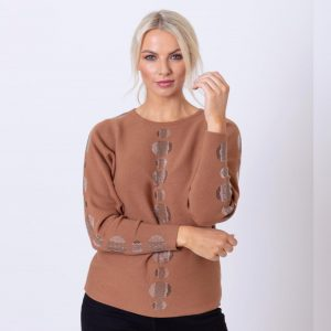 paco dotted sequinned sweater jerros birr