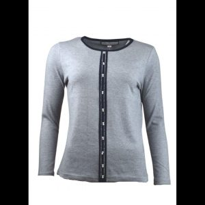 pearl panel sweater paco
